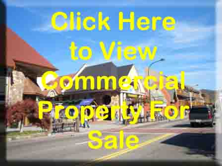 Gatlinburg commercial real estate for sale